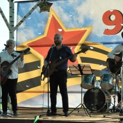 Вечером 9 мая парк им. Е. Иглиной встречал посетителей праздничной программой, посвященной Дню Победы в Великой Отечественной войне.