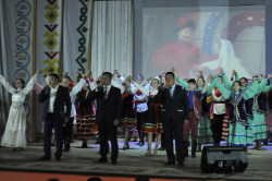 В с. Иглино в рамках Года башкирской истории и Всероссийского культурно-просветительского проекта «Шежере» состоялся съезд рода Кобау.