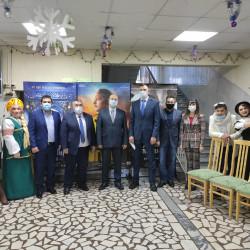 """В Иглинском РДК состоялось торжественное открытие кинозала """"Космос"""""""
