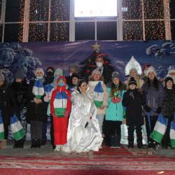 25 декабря состоялось театрализованное представление «Здравствуй, Новый год!».